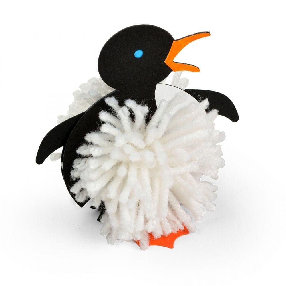 Sizzix Originals Die - Pom-Pom Pal Penguin - A11265