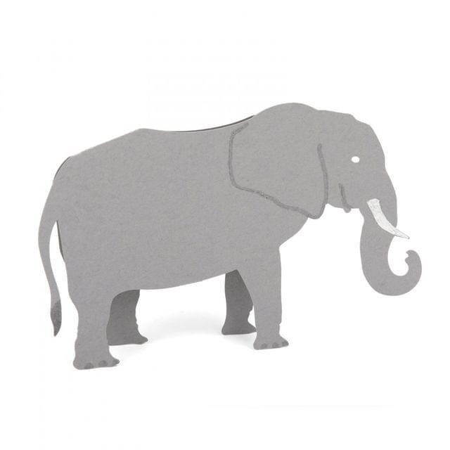 Sizzix Bigz L Die - Elephant, 3-D - A11231