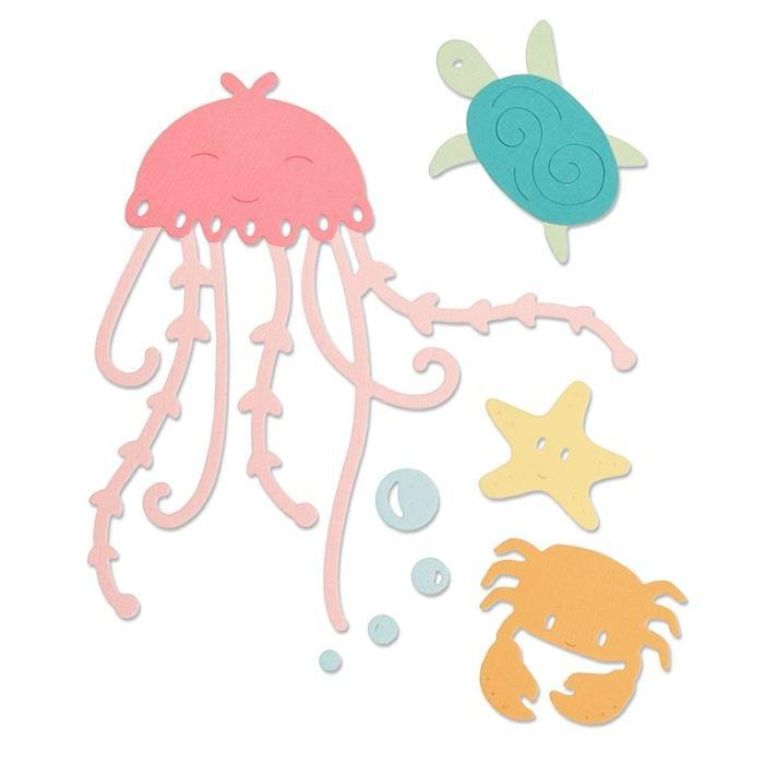 Sizzix Thinlits Die Set 5PK - Under the Sea Item: 663363