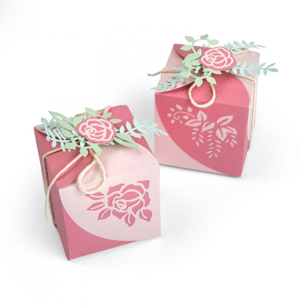Thinlits Die Set 8PK - Wrap Favor Box-663591