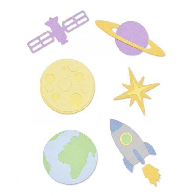 Thinlits Die Set 11PK - Space-663414