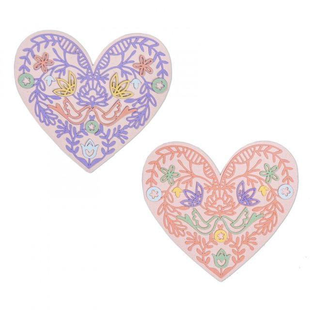 Thinlits Die Set 10PK - Lace Heart-663582