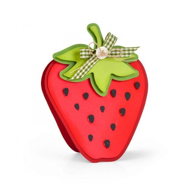 Framelits Die Set 5PK - Strawberry Fold-its-664115