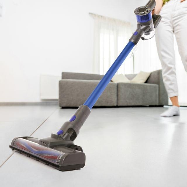 MyGenie X5 Handheld Cordless Stick Handstick Vacuum Bagless Rechargeable - Blue