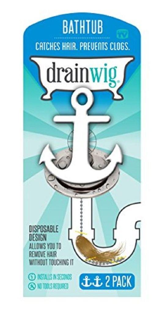 Drainwig for the Bathtub - 2 Pack