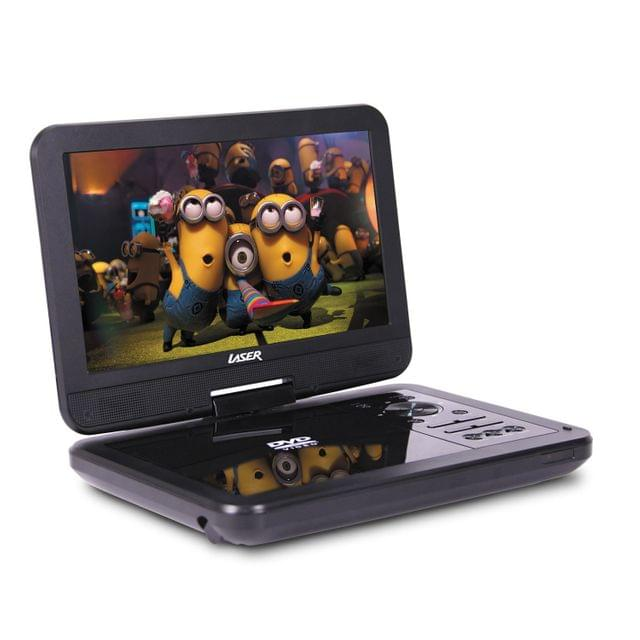 "Portable DVD Player 10"" with Bonus Pack"