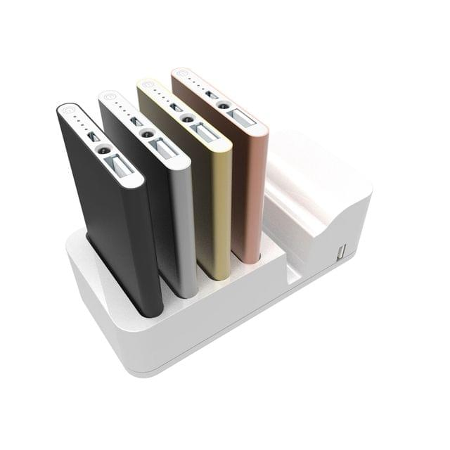 Power Bank Charging Station White