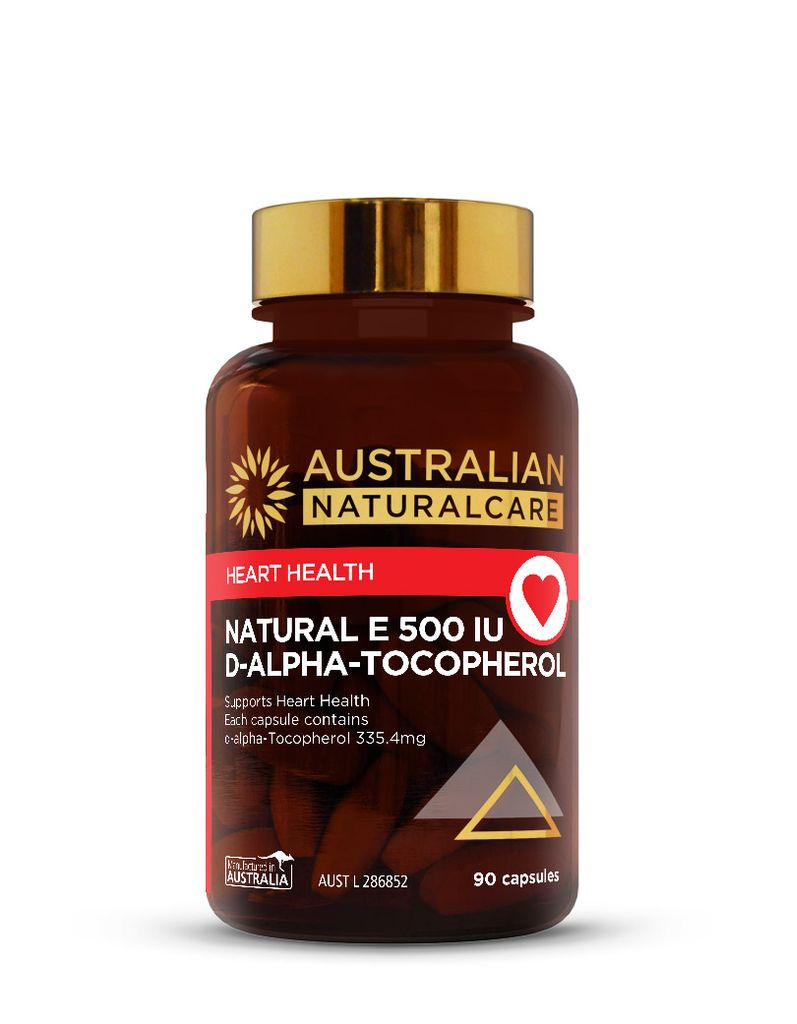 Natural Vitamin E 500IU 90 Caps