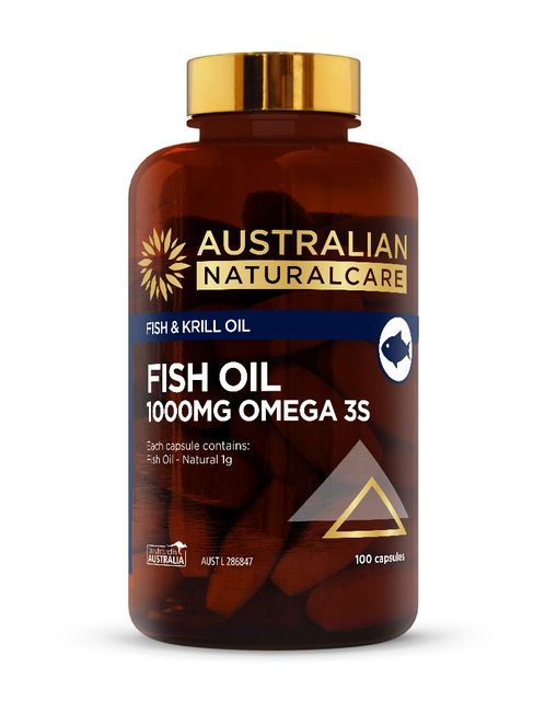 Fish Oil 1000mg 100 Caps