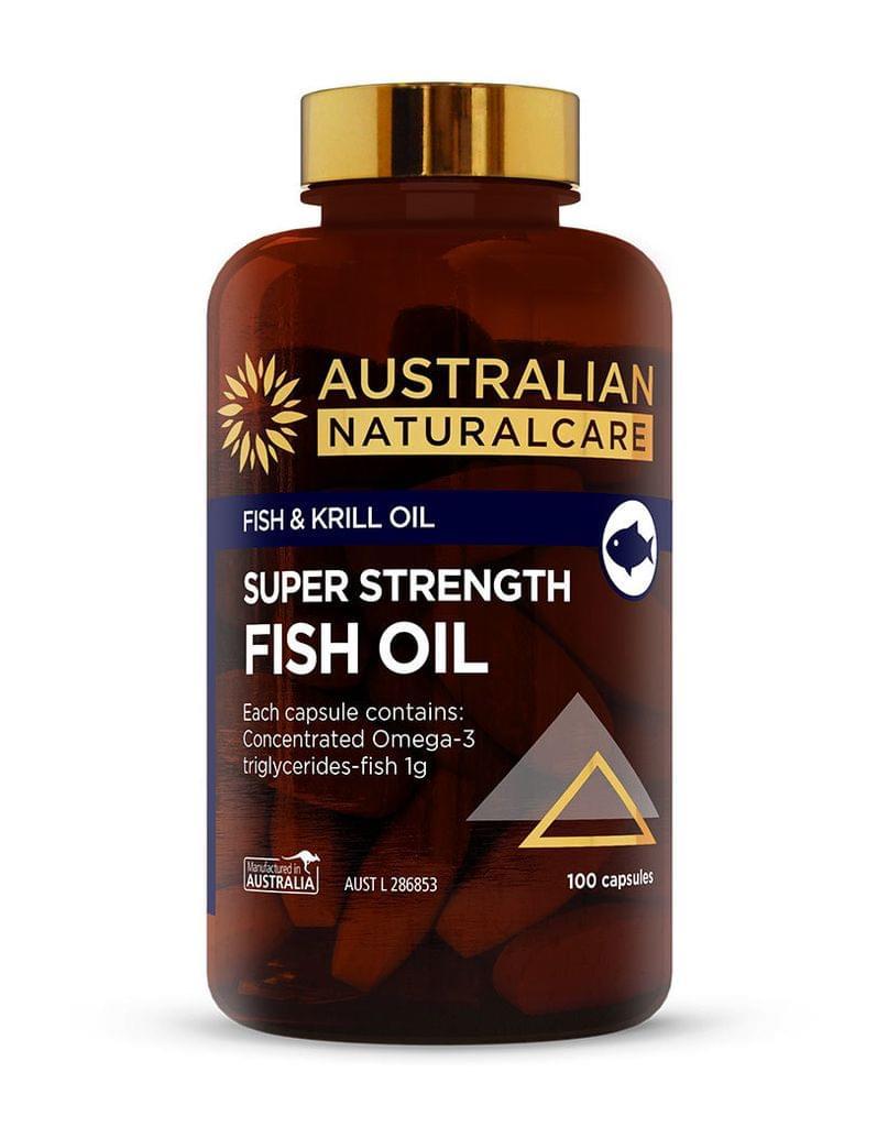 Super Strength Fish Oil 100 Caps