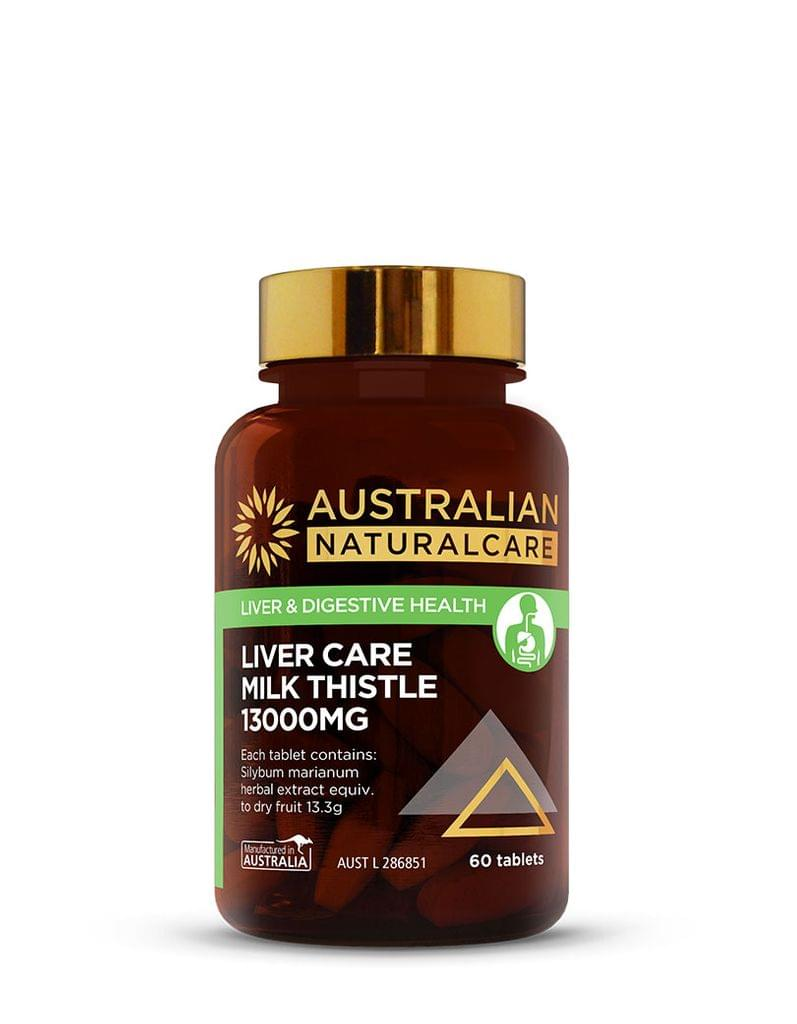 Liver Care Milk Thistle 13000mg 60 Tabs