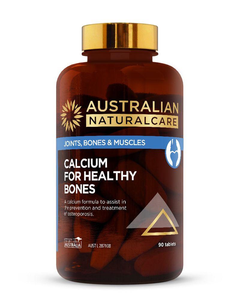 Calcium For Healthy Bones 90 Tabs