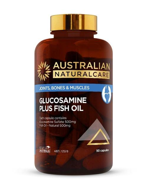 Glucosamine Plus Fish Oil 90 Caps