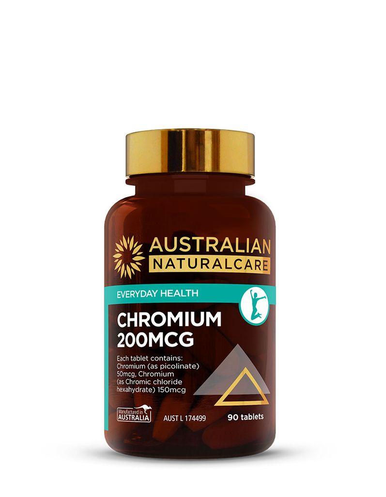 Chromium 200mcg 90 Tabs