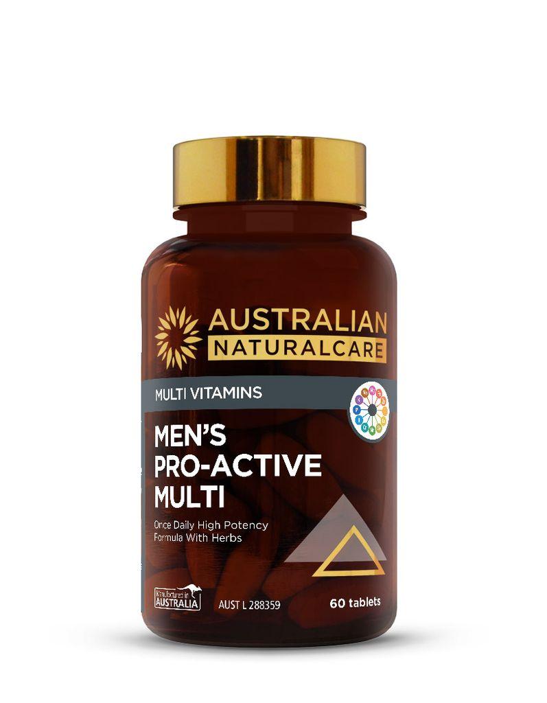Mens Pro-Active Multi 60 Tabs