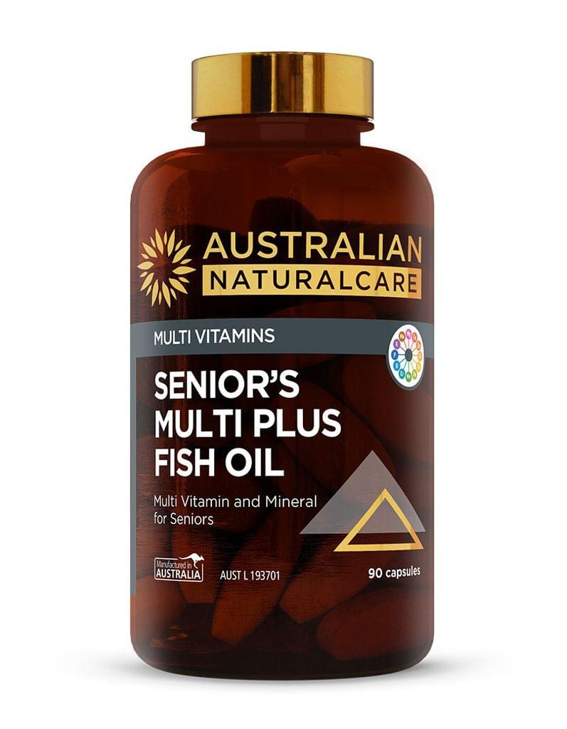 Senior's Multi Plus Fish Oil 90 Caps