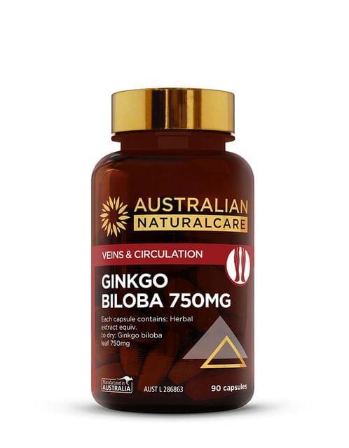 Ginkgo Biloba 750mg 90 Caps