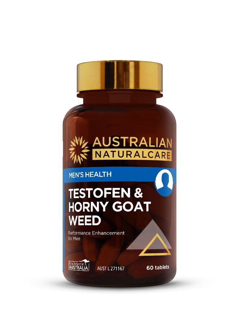 Testofen & Horny Goat Weed 60 Tabs