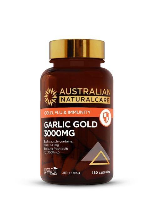 Garlic Gold 3000mg 180 Caps