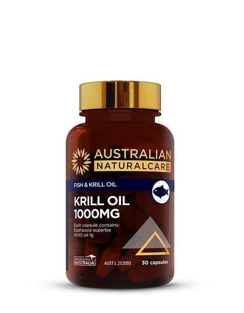 Krill Oil 1000mg 30 Caps