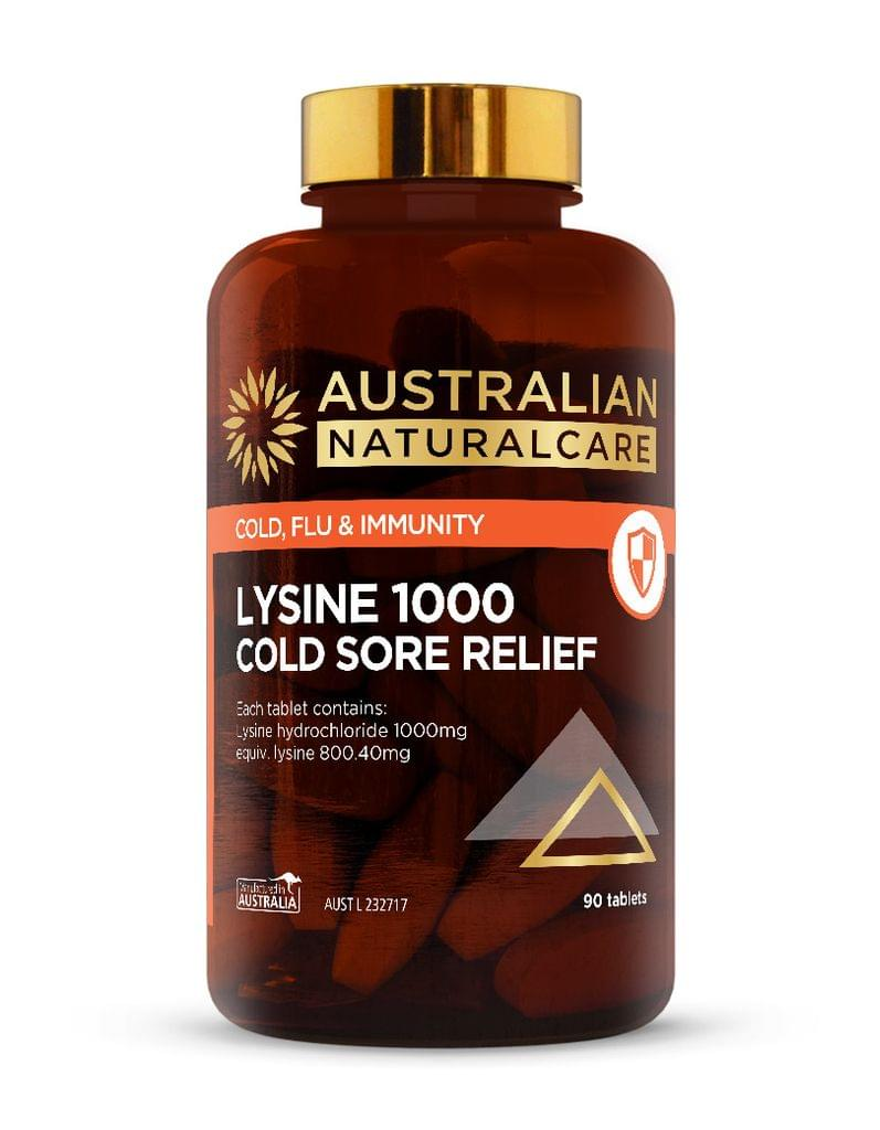 Lysine 1000 Cold Sore Relief