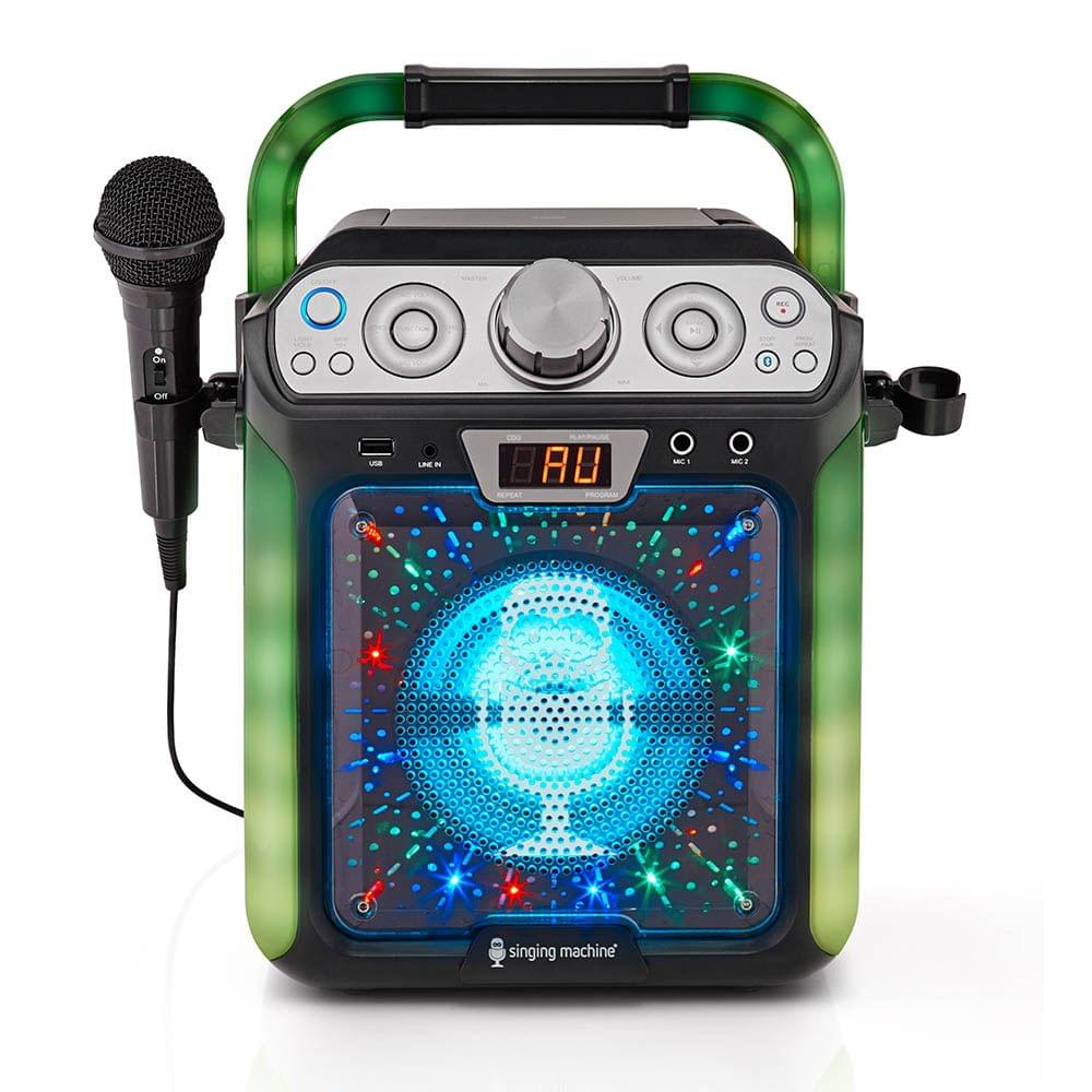 'Singing Machine Groove Cube Karaoke System'