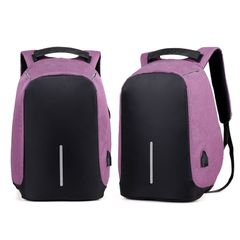 Milano Anti Theft Backpack  - Purple