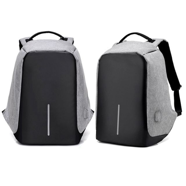 Milano Anti Theft Backpack  - Grey