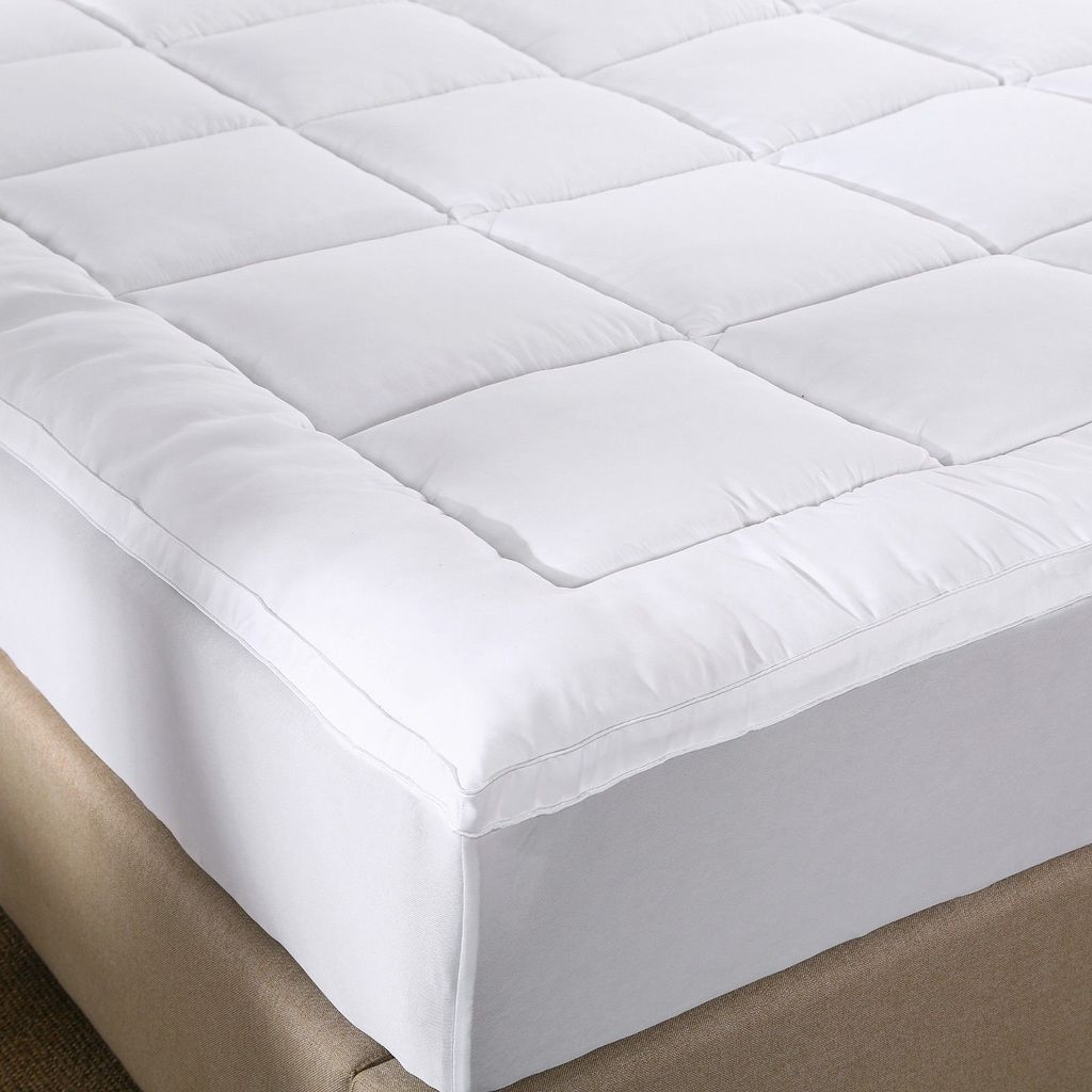 Royal Comfort 1000GSM Memory Mattress Topper  -Single
