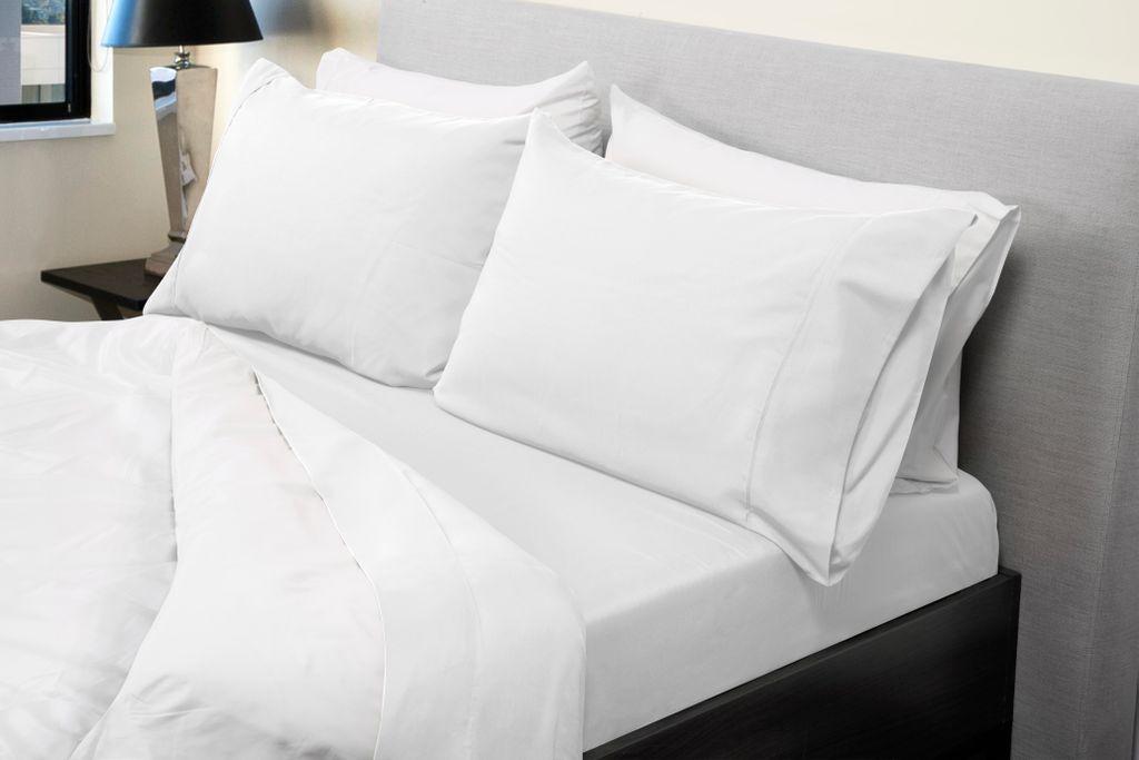 Royal Comfort 1000TC Bamboo Blend sheet sets King White