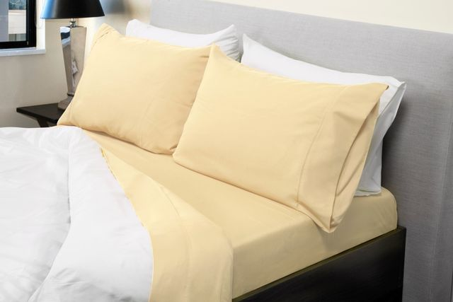 Royal Comfort 1000TC Bamboo Blend sheet sets Queen Ivory
