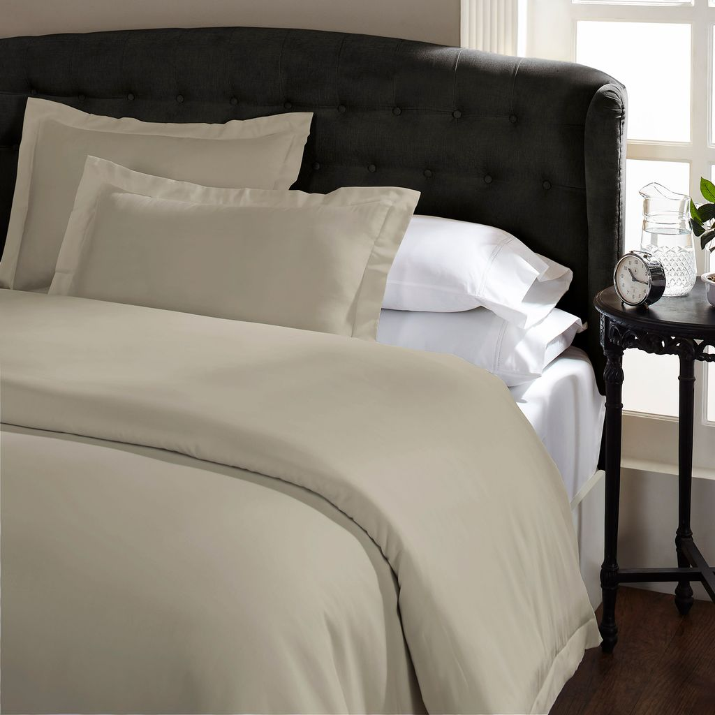 Royal Comfort 1500 Thread count Cotton Blend Quilt cover sets King Stone