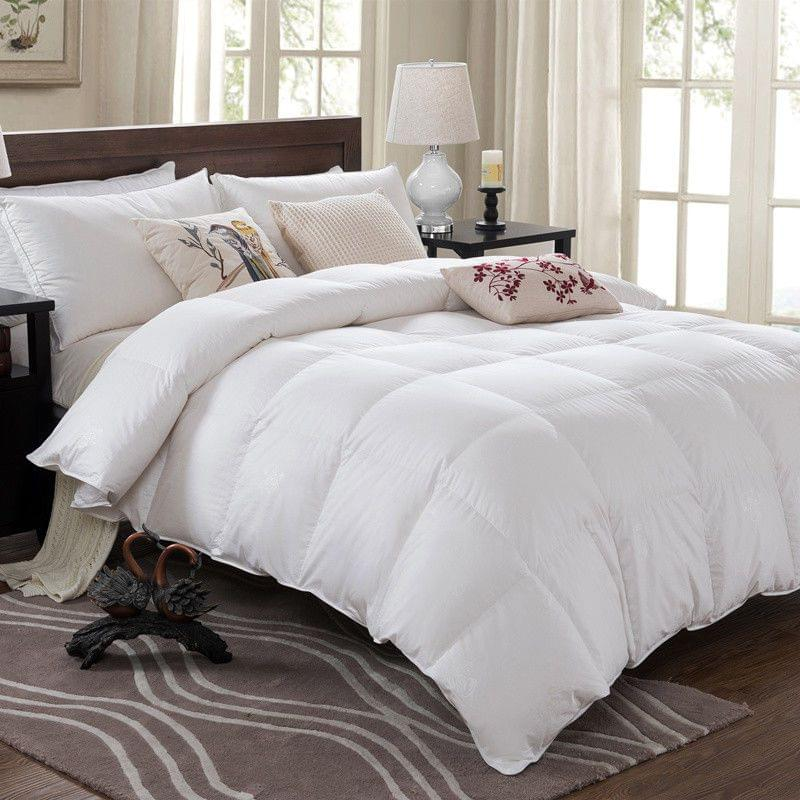 Royal Comfort Duck Down Quilt - 233TC Cover 50% Duck Down 50% Duck Feather