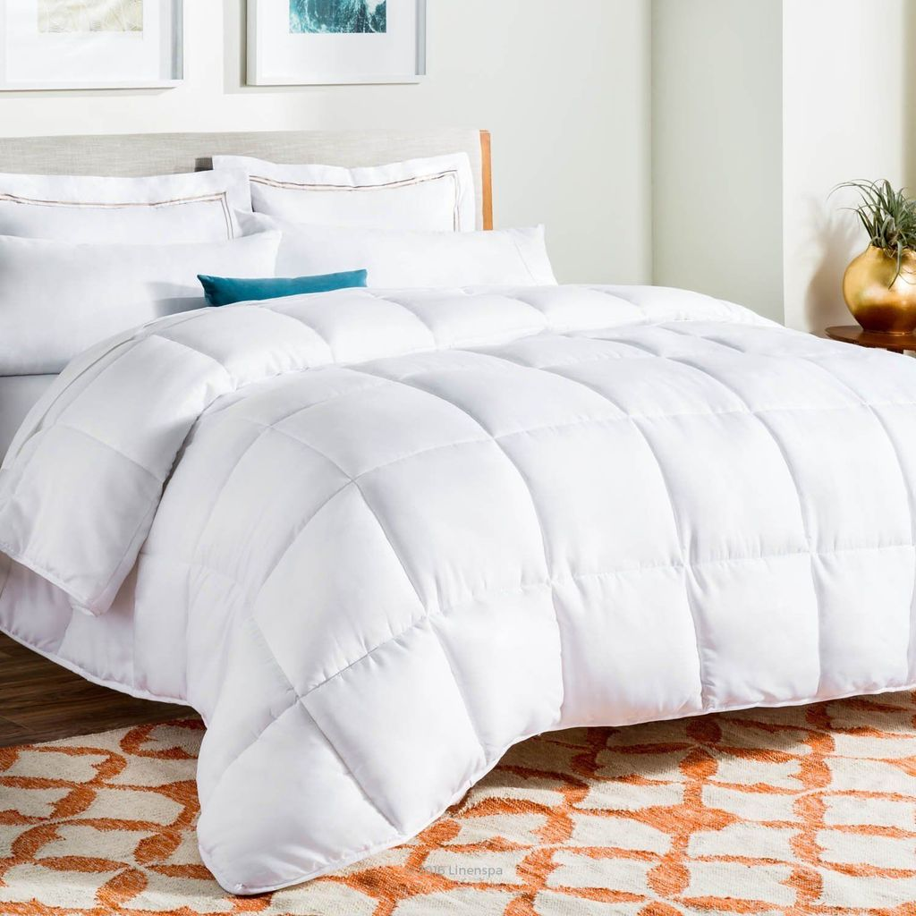 Royal Comfort Goose Feather & Down Quilt Single - 500GSM