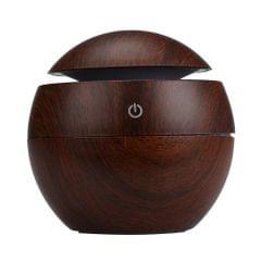 Milano USB Diffuser + 10pk Oils - Dark Wood Grain
