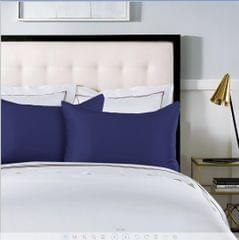 100% Dual-Sided Pure Silk Pillowcase by Royal Comfort -Navy