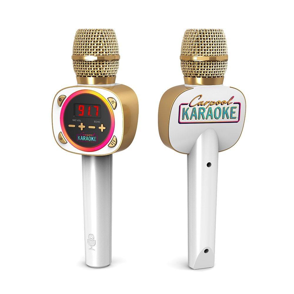 Singing Machine Carpool Karaoke Microphone