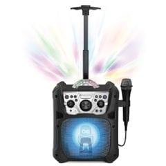 Singing Machine Mini Fiesta- Bluetooth� + Light Show