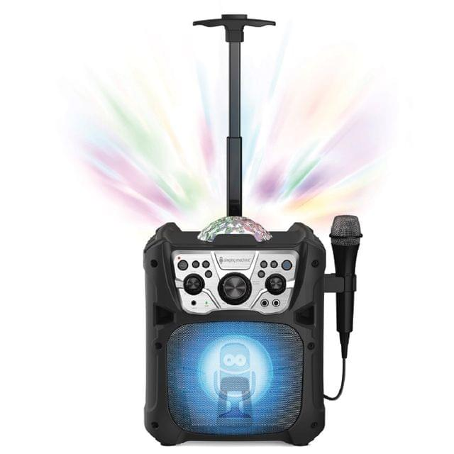 Singing Machine Mini Fiesta- Bluetooth� + Light Show