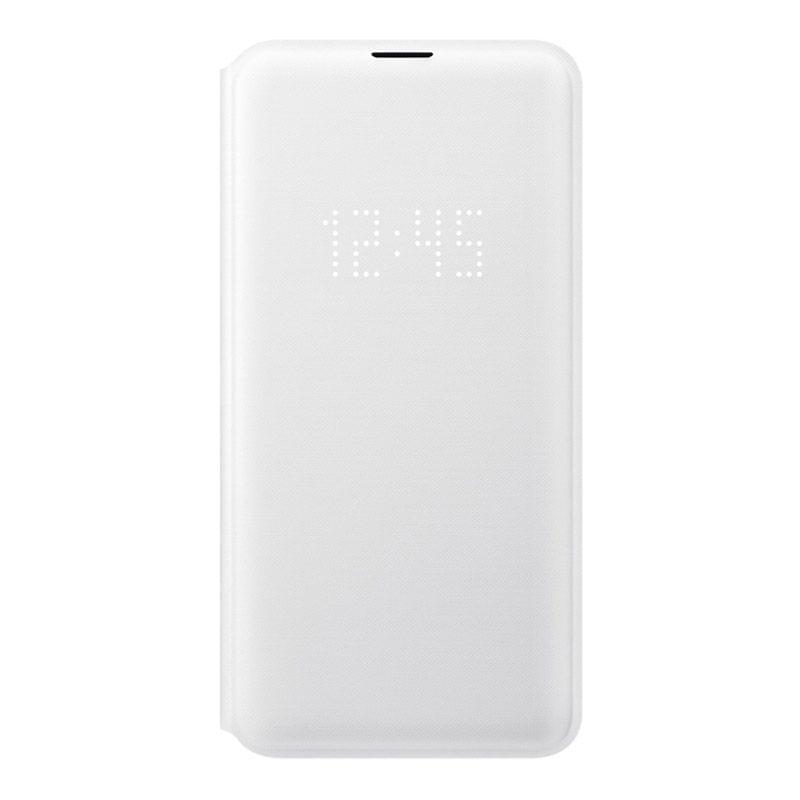 Samsung Galaxy S10e LED View Wallet Cover - White