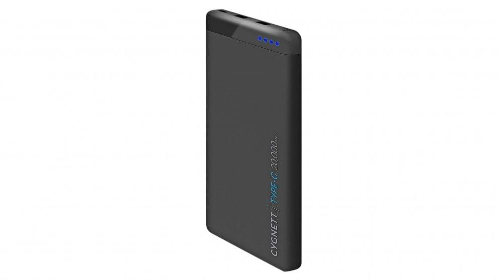 Cygnett ChargeUp Pro 20000mAh Power Bank - Black
