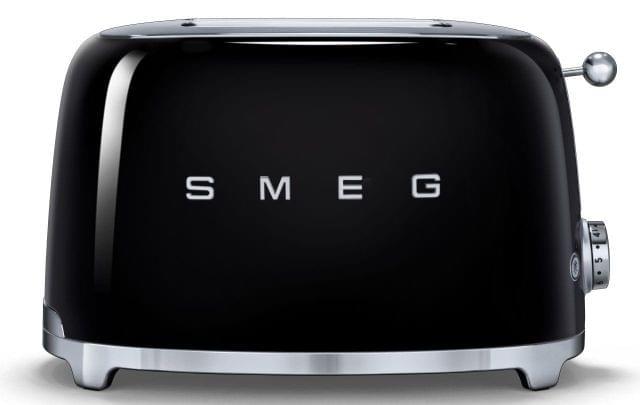 SMEG 50's Style 2 Slice Toaster - Black