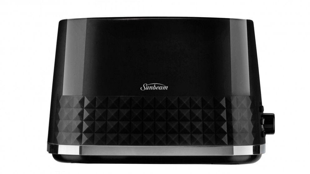 SUNBEAM Diamond Collection 2 Slice Toaster - Black