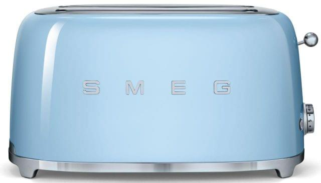 SMEG 50's Style 4 Slice Toaster - Pale Blue