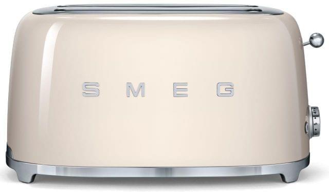 SMEG 50's Style 4 Slice Toaster - Cream
