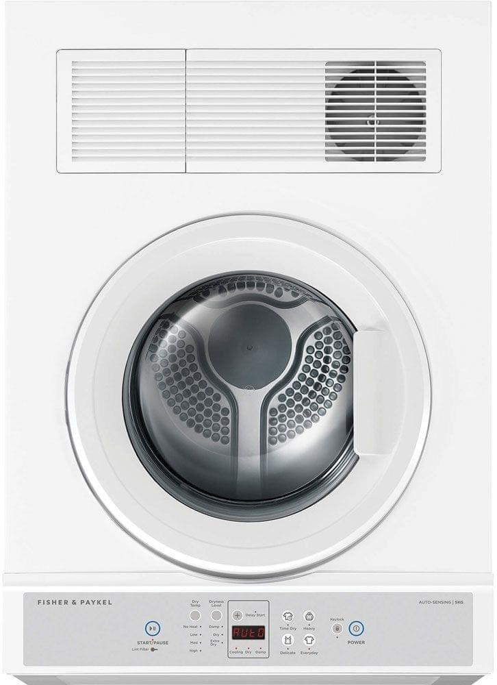 F&P 5Kg Front or Rear Vented Electronic Dryer