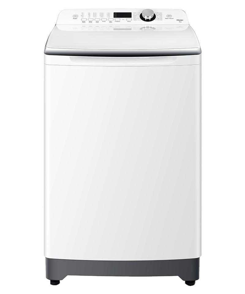 HAIER 10Kg Top Load Washing Machine White