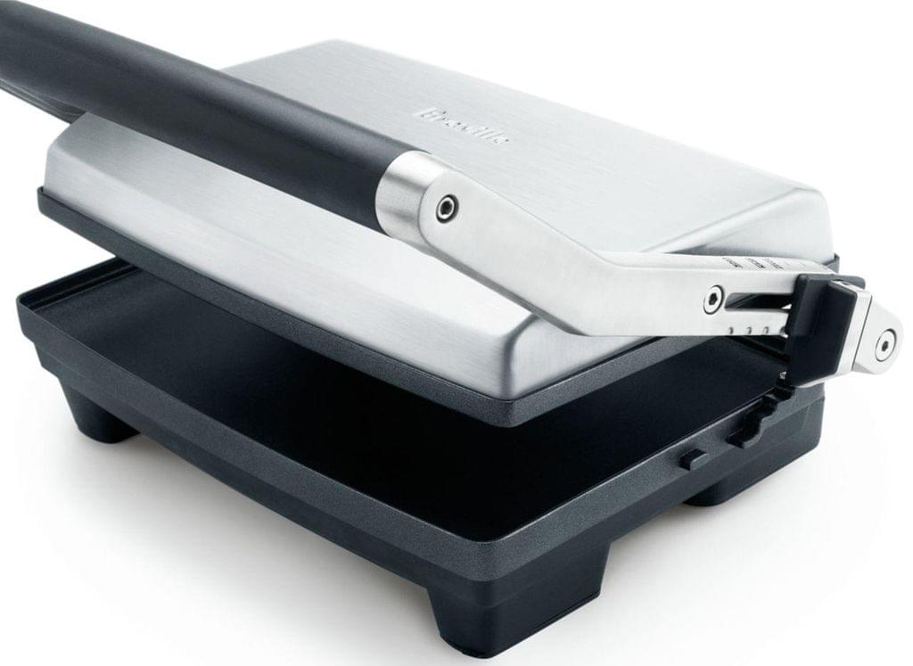 BREVILLE The Toast & Melt 2 Slice Sandwich Press - Stainless Steel