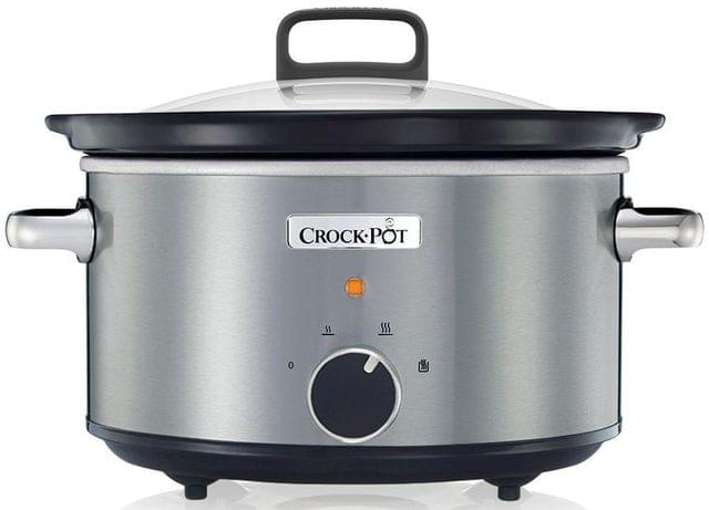 SUNBEAM 3.5L Traditional Slow Cooker - Stainless Steel