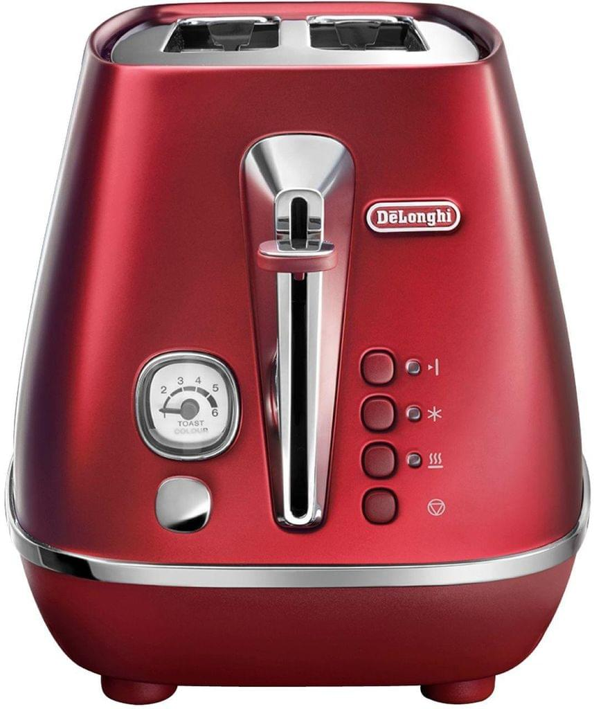 DELONGHI Distinta Flair 2 Slice Toaster - Red